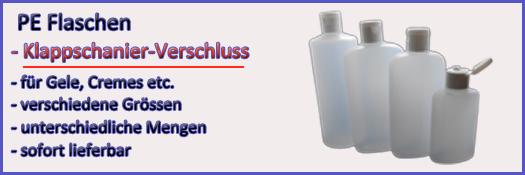 PE Flaschen Klappschanier-Deckel