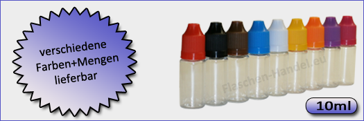 10 ml Flaschen (PET)