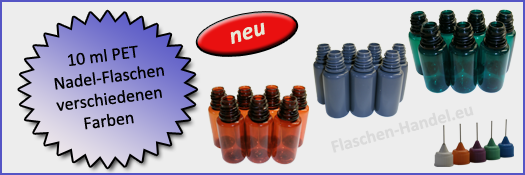 10 ml Nadelflasche bunt (PET)