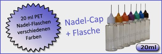 20 ml Nadelflasche (PET)