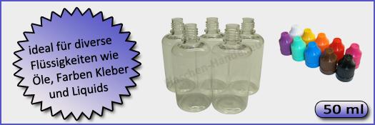 50ml Flaschen PET