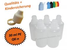 30 ml Tropf-Flasche - PE - QK TYP2