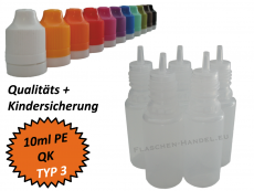 10ml Dropperbottle PE TC TYP3
