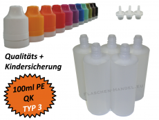 100ml Dropperbottle PE TC TYP3