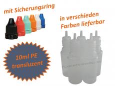 10 ml Tropf-Flasche - PE Q - slim - Farben frei wählbar