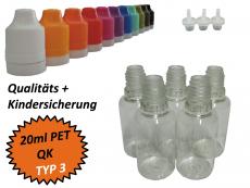 20 ml Tropf-Flasche - PET - QK TYP3