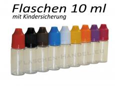 10 ml Tropf-Flasche - PET - Farben frei wählbar