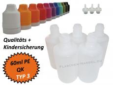 60 ml Tropf-Flasche - PE - QK TYP3