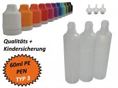60 ml Tropf-Flasche - PE - QK TYP3 - PEN