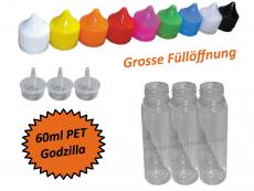 60ml Godzilla PET Kunststoffflasche V2