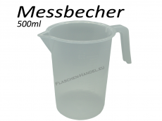 Messbecher transparent 500ml
