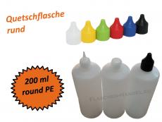 Rundflasche HDPE 200ml
