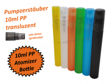 Pumpzerstäuber Flasche PP 10ml