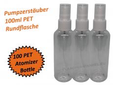 Pumpzerstäuber Flasche PET 100ml