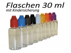 30 ml Tropf-Flasche - PET - Farben frei wählbar