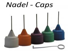 Nadel Deckel - Nadel Caps -  versch. Farben