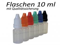 10 ml Tropf-Flasche - PE Q - Farben frei wählbar