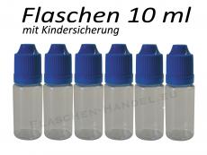 10 ml Tropf-Flasche - PET - blau