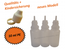 10 ml Tropf-Flasche - PE - QK TYP2
