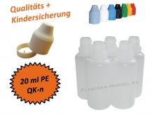20 ml Tropf-Flasche - PE - QK TYP2