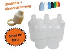 50 ml Tropf-Flasche - PE - QK TYP2