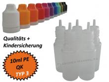10 ml Tropf-Flasche - PE - QK TYP3