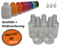 30ml Dropperbottle PET TC TYP3
