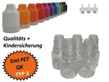 5ml Tropf-Flasche - PET - QK TYP3
