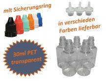 30ml Tropf-Flasche - PET Q - Farben frei wählbar