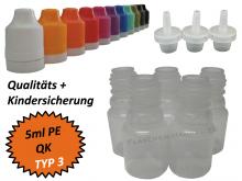 5 ml Tropf-Flasche - PE - QK TYP3