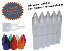 10ml Dropperbottle PE thin (Penbottle)