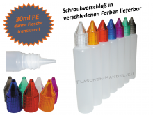 30ml Dropperbottle PE thin (Penbottle)