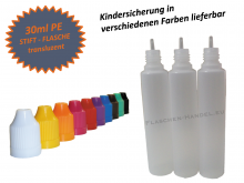 30ml Dropperbottle PE Penbottle Childproof