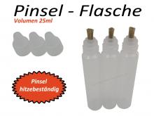 Pinselflasche mit Naturborsten