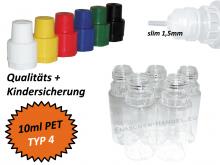 10 ml Tropf-Flasche - PET - QK TYP4