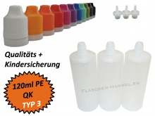 120ml Dropperbottle PE TC TYP3