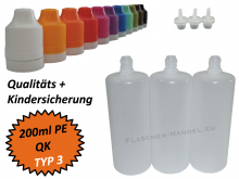 200ml Dropperbottle PE TC TYP3