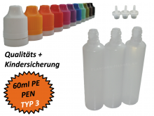 60ml Dropperbottle PE TC TYP3 Pen