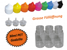 30ml Godzilla PET Plasticbottle
