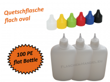 Oval Bottle HDPE 100ml