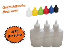 Oval Bottle HDPE 50ml