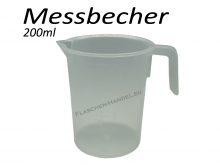 Messbecher transparent 200ml