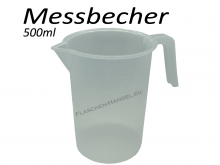 Measuring Cup transparent 500ml