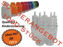 10 ml Tropf-Flasche - PET - QK TYP3 sale VPE 1000