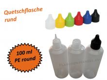Rund-Flasche HDPE 100ml