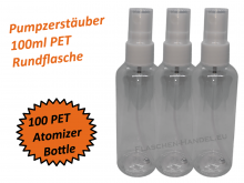 Atomizer Bottle PET 100ml