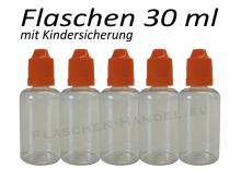 30 ml Tropf-Flasche - PET - orange