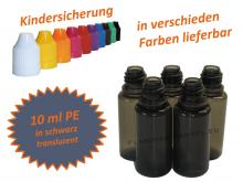 10 ml Tropf-Flasche schwarz - PE