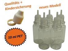 10 ml Tropf-Flasche - PET - QK TYP2